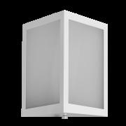 Arandela Incolustre 552.09 Square 1L E27 300x190x95mm Branco