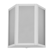 Arandela Incolustre 552.36 Mini 1L E27 220x200x85mm Branco