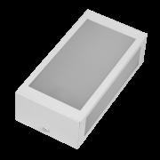 Arandela Incolustre 552.50 Mini 1L E27 230x118x70mm Branco
