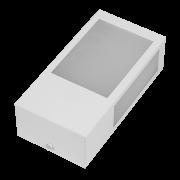 Arandela Incolustre 552.96 Mini 1L E27 230x118x70mm Marrom