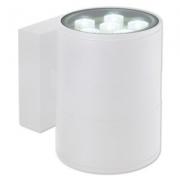 Arandela LED Bella LX1042W-OUTLET Block 12W 3000K Bivolt Ø11x15x14,5cm Branco