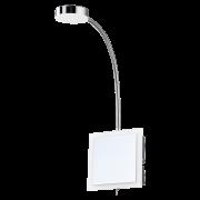 Arandela LED Mantra 30065 Acrílico 3W 3000K Bivolt 110x440x30mm - Cromado