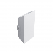 Arandela LED Power Lume APR02-IP65 Facho Duplo 4W 24V Ø200x100x50mm