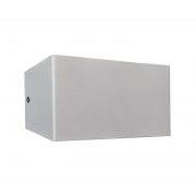 Arandela LED Power Lume APR03-IP40 Facho Duplo 4x2 8W 24V Ø200x100x60mm