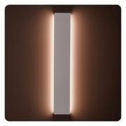 Arandela LED Stella STH9741BR/27 Reflex 72cm 20W 1800lm 2700K 26x720x115mm IP65 Bivolt - Branco