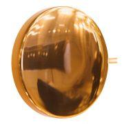 Arandela LED Usina 5798/1F Galáxia Redonda C/ Um Furo Lateral 5W 3000K 127V Ø120x50mm