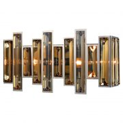 Arandela Mantra 30451 Milano C/ Cristal Cognac 2L E14 430xx200x110mm - Cromado