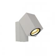 Arandela Nordecor 2132/N-OUTLET Kubi LED 5W 3000K 400lm Bivolt 100x95x65mm Branco