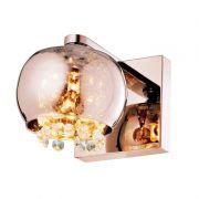 Arandela Casual Light Quality QAR1281-CO Dubiln 1L G9 130x190X160mm Cobre