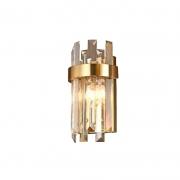 Arandela Sindora DCD00219 Dourado/Cristal 2L E14 180x330mm