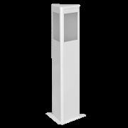 Balizador Incolustre 552.03 Square 1L E27 500x185x160mm Preto