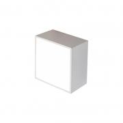 Balizador Itamonte 903-301-BT Case 6W 3000K 400LM 127V 50x30x50mm Branco Texturizado