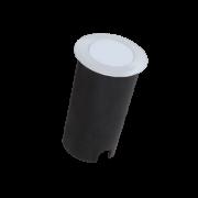 Balizador LED Romalux 10093 Redondo 1,8W 2700K IP66 Bivolt Ø50x82mm Branco
