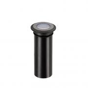 Balizador Solo LED Stella STH8703/AB Mini Spur 0,5W Âmbar IP67 Bivolt - Preto