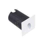 Balizador Quadrado LED Gaya 9679 Bivolt 2W 3000K IP65 70x80mm
