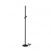Coluna Casual Light Quality CL1490 Zione 6W 3000K 140x610x310mm Preto