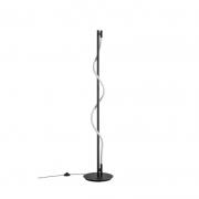 Coluna Casual Light Quality CL1493 Zavo 15W 3000K Ø300x1500mm Preto