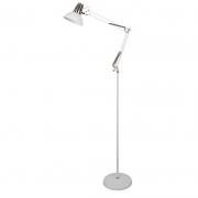 Coluna Casual Light Quality CL861-BR-OUTLET Beaver 1L E27 550x250x1700mm Branco