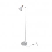 Coluna Casual Light Quality QCL1467BR Horn 1L E27  40W Ø120x1400mm Branco