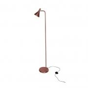 Coluna Casual Light Quality QCL1467CO Horn 1L E27  40W Ø120x1400mm Cobre