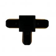 Conector T Para Trilho Eletrificado Furlight FL3011 Preto