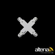 Conexão em Cruz para Trilho Eletrificado Altena TRA00045 Altrac PRO