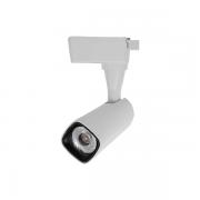 Spot para Trilho Nordecor 6102/N Valis LED 10W 3000K 800lm 190x75x66mm Bivolt Branco