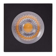 Embutido Solo LED Brilia 302730 Quadrado IP67 30W 2700K 30G Bivolt 100x100x150mm - Preto