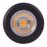 Embutido Solo LED Brilia 302679 Redondo IP67 10W 2700K 30G Ø78x120mm - Preto