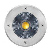 Embutido Solo LED Brilia 432587 Redondo IP67 12W 2700K 30G Bivolt