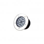 Embutido Solo LED Gaya 9730 Redondo Bivolt 15W Verde IP65 200x90mm