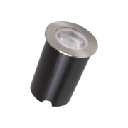 Embutido Solo LED Romalux 10076 4,5W 2700K IP66 Bivolt Ø65x56mm Inox