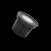 Embutido Solo LED Romalux 10109 12° 12W 2700K IP66 Bivolt Ø120x70mm Preto