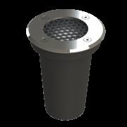 Embutido Solo LED Save Energy SE-335.1626 Aço Inoxidável Lente Antiofuscante 6W 2700K 30G Bivolt