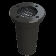 Embutido Solo LED Save Energy SE-335.1627  Jet Black Lente Antiofuscante 6W 2700K 30G Bivolt
