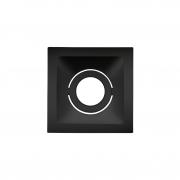 Spot Embutido Stella STH8910PTO Square MR11 Mini Dicróica GU10 - Preto