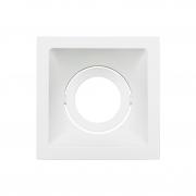 Spot Embutido Stella STH8915BR Square MR16 Dicróica/Par16 GU10 - Branco