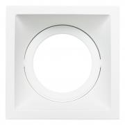 Spot Embutido Stella STH8925BR Square PAR30 E27 - Branco