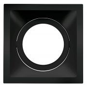 Spot Embutido Stella STH8925PTO Square PAR30 E27 - Preto