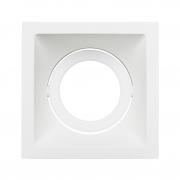 Spot Embutido Stella STH8930BR Square AR70 GU10 - Branco