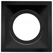 Spot Embutido Stella STH8935PTO Square AR111 GU10 - Preto