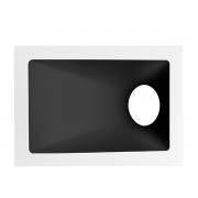 Spot Embutido Stella STH8975BR/PTO Square Angle Dicróica/PAR16 GU10 MR16 40G - Branco/Preto