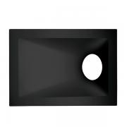 Spot Embutido Stella STH8975PTO Square Angle Dicróica/PAR16 GU10 MR16 40G - Preto