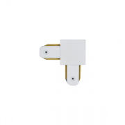 "Ementa de Trilho/Spot Eletrificado ""L"" Nordecor 65x49mm 6070/N Branco"