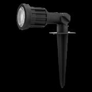 Espeto LED Save Energy SE-325.1801 Ângulo Ajustável Jardim 5W Verde 30G IP65 Bivolt Ø55x190mm