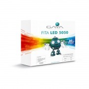Fita LED 5050 Gaya 9026 110V 14,4W 3000K IP65 Rolo de 5 Metros