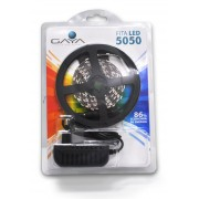 Fita LED 5050 Gaya 9041 12V 14,4W 3000K IP20 Rolo de 2,5 Metros