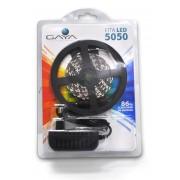 Fita LED 5050 Gaya 9043 12V 14,4W Vermelha IP20 Rolo de 2,5 Metros
