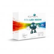 Fita LED Neon Gaya 9003 220V 9,6W Vermelha IP65 Rolo de 5 Metros
