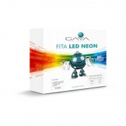 Fita LED Neon Gaya 9005 220V 9,6W Verde IP65 Rolo de 5 Metros